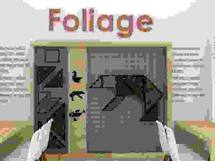 Stand FOLIAGE /Activación marca de Decó ambientes a la medida Ecléctico
