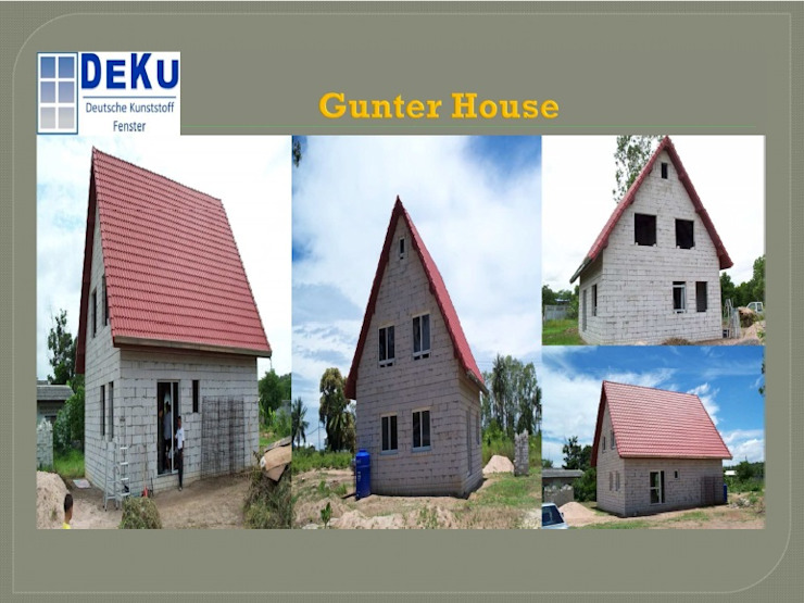 Gunter House โดย DeKu German Windows Co.,ltd ชนบทฝรั่ง พลาสติก