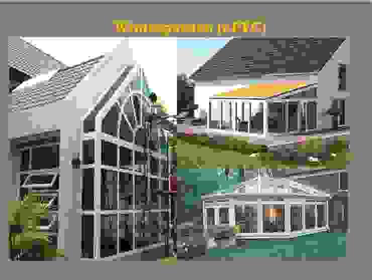 Garden House Project โดย DeKu German Windows Co.,ltd คลาสสิค พลาสติก