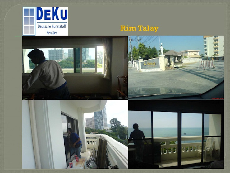 Hotel project โดย DeKu German Windows Co.,ltd โมเดิร์น พลาสติก