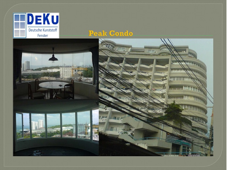 Condo Project โดย DeKu German Windows Co.,ltd เอเชียน พลาสติก