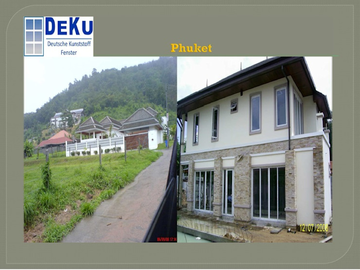 Resort project โดย DeKu German Windows Co.,ltd ผสมผสาน พลาสติก