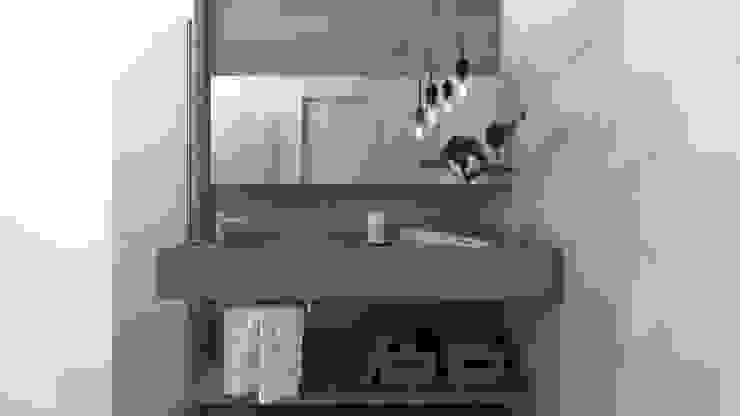 i47 | Interior de um apartamento: Banheiros  por Estúdio 2 : 1,