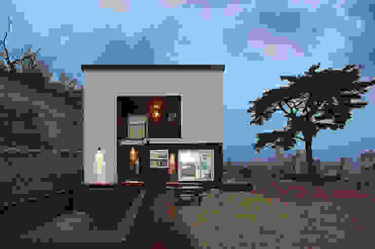 수영장 있는 펜션같은 전원주택 by 공간제작소(주) 북유럽