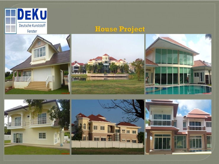 Reference Project โดย DeKu German Windows Co.,ltd