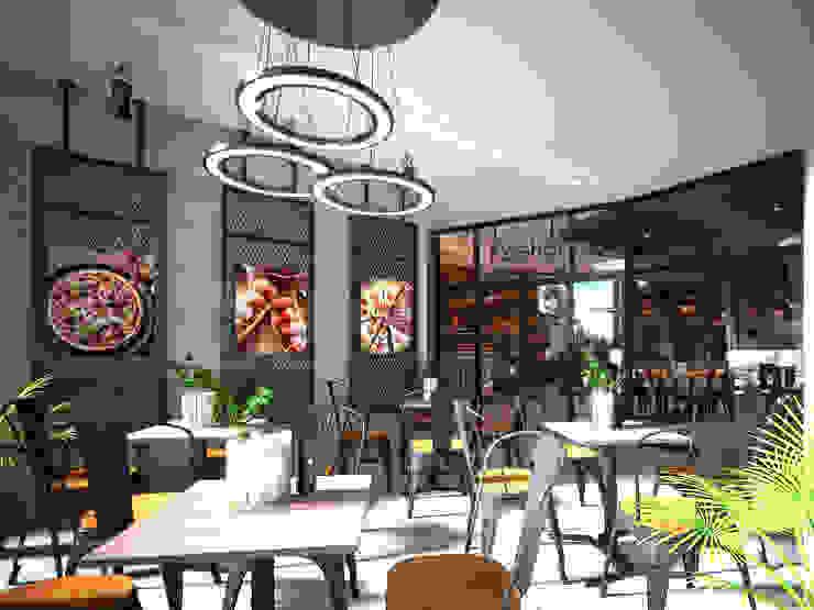 Kosher restaurant by UpMedio Design by UpMedio Design Modern