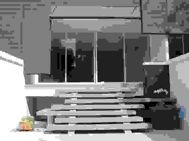 Renovation Modern Terrace by UpMedio Design Modern