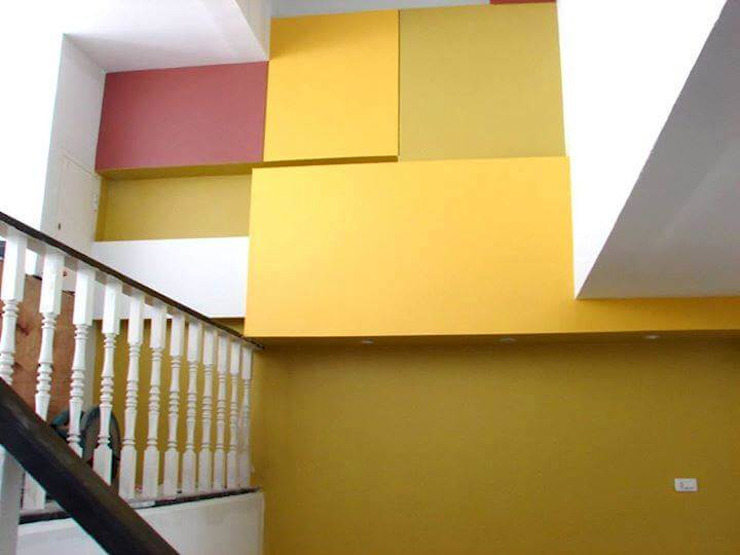 Renovation Modern Walls and Floors by UpMedio Design Modern