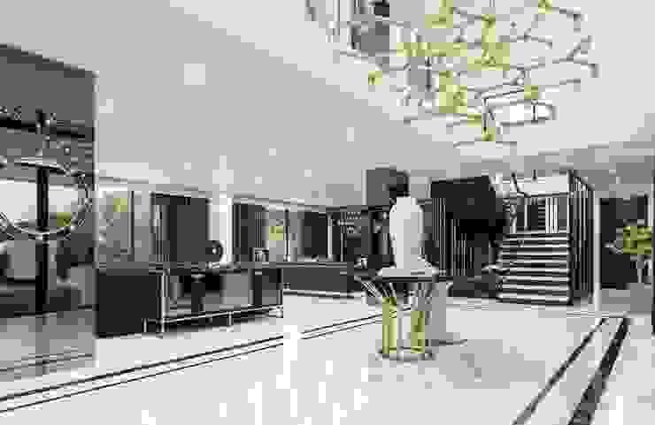 Sapanca Villa Modern Koridor, Hol & Merdivenler VERO CONCEPT MİMARLIK Modern