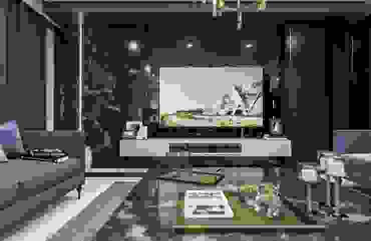 Sapanca Villa Modern Oturma Odası VERO CONCEPT MİMARLIK Modern