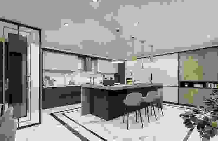 Sapanca Villa Modern Mutfak VERO CONCEPT MİMARLIK Modern