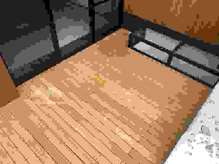 庭院地面與牆面 根據 新綠境實業有限公司 日式風、東方風 塑木複合材料