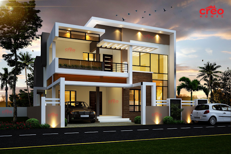 Best Interior Designers in Kerala Asian style houses by Creo Homes Pvt Ltd Asian