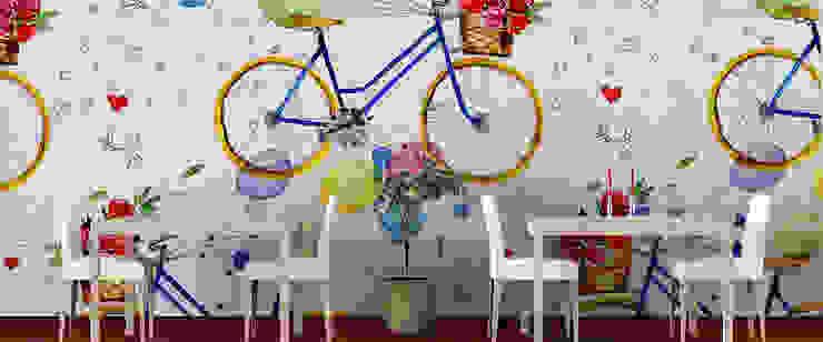 Paredes y pisos de estilo clásico de Kromart Wallcoverings - Papel Tapiz Personalizado Clásico