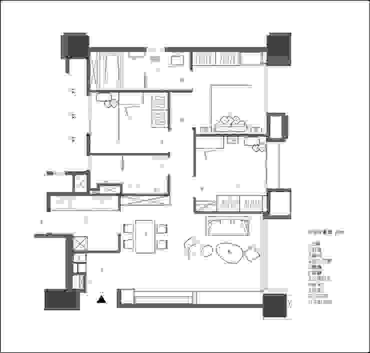 PLAN: 鄉村  by 璞玥室內裝修有限公司, 田園風