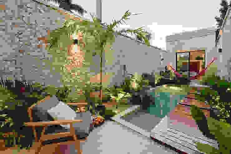 Workshop, diseño y construcción 庭院泳池