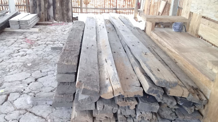 sell teak corrosion sell teak corrosion Pusat Perbelanjaan Gaya Industrial Oleh Jati mulya indah Industrial Kayu Wood effect