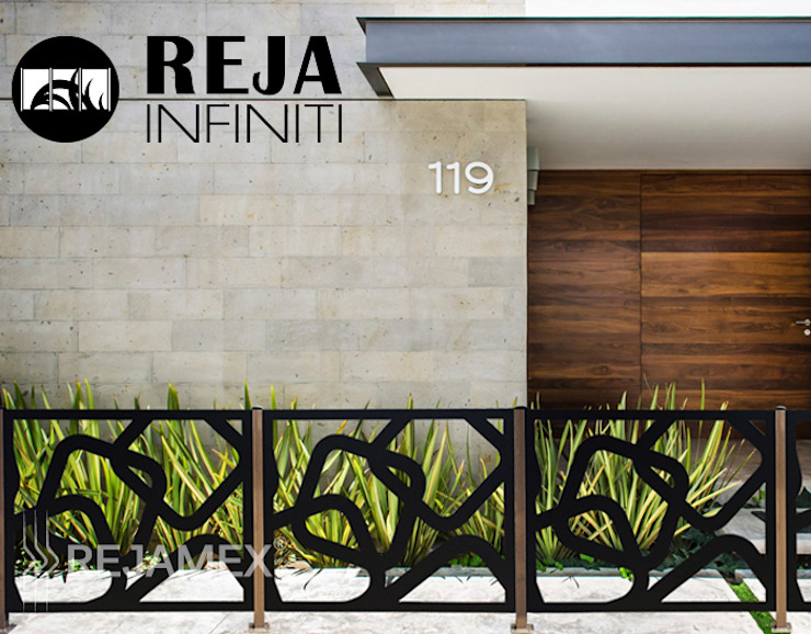 Rejamex Prefabricated home Metal Black