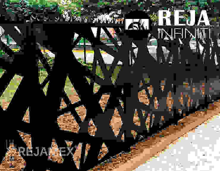 Rejamex Front yard Metal Black