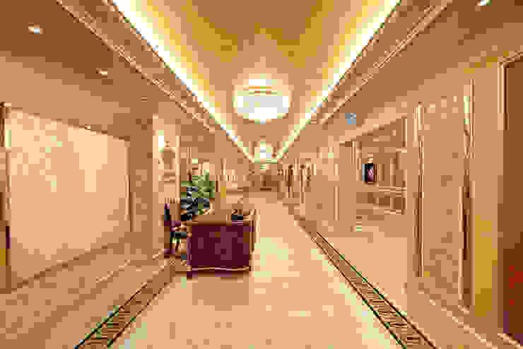 2. Dùng tấm ốp vân đá cho không gian khách sạn bởi Công ty TNHH truyền thông nối việt Hiện đại