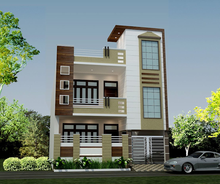 Front Elevation Design Hpl High