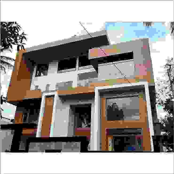 360 Home Interior Casas prefabricadas Marrón