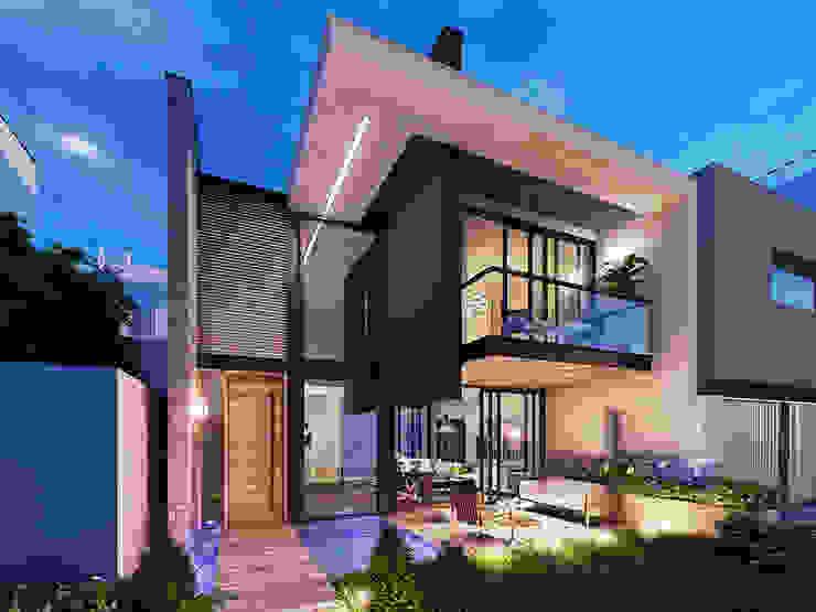 INSPIRA ARQUITECTOS Modern houses