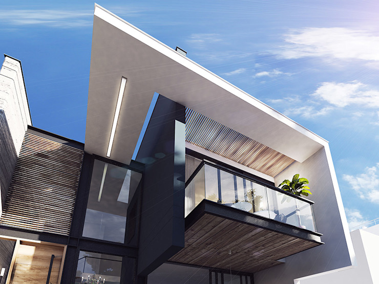 Modern houses by INSPIRA ARQUITECTOS Modern