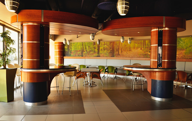 Swaziland Revenue Authority Canteen Modern dining room by Durban Shopfitting & Interiors Modern