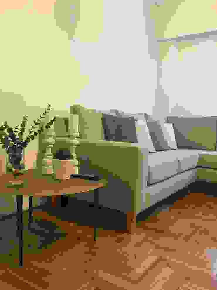 Ruang Keluarga Modern Oleh Estudio Qpi Modern