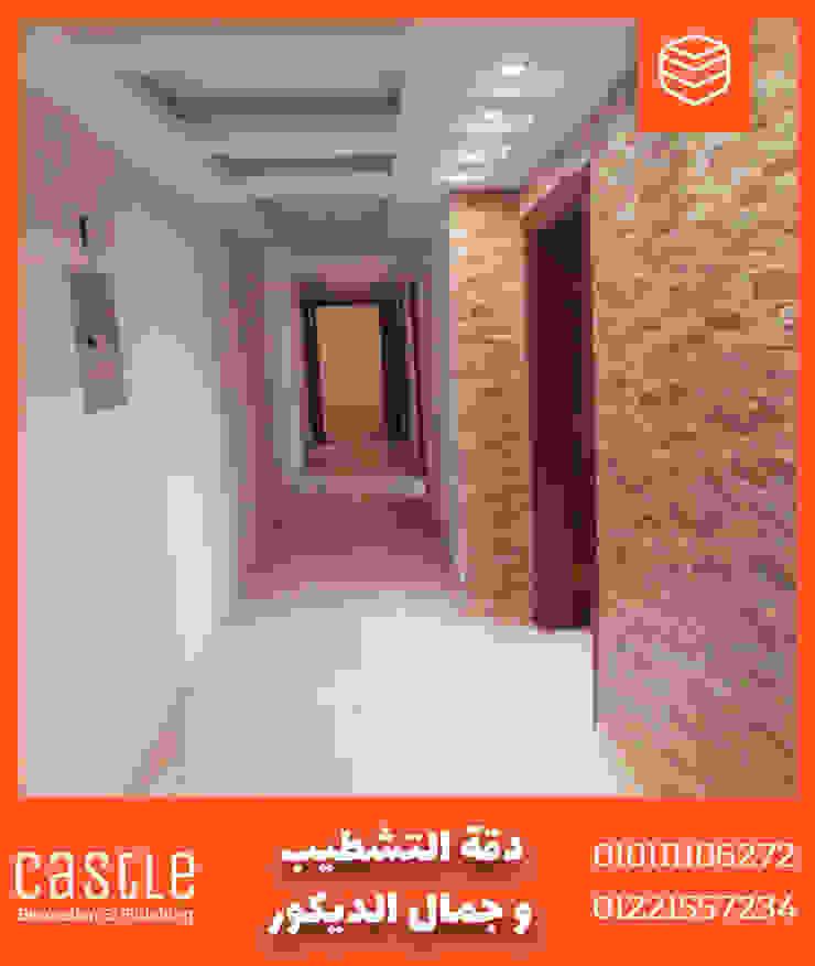 Modern walls & floors by كاسل للإستشارات الهندسية وأعمال الديكور في القاهرة Modern Granite