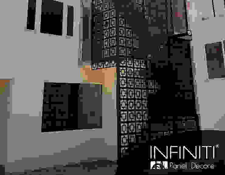 Infiniti Panel Decore Spazi commerciali in stile minimalista Metallo Nero