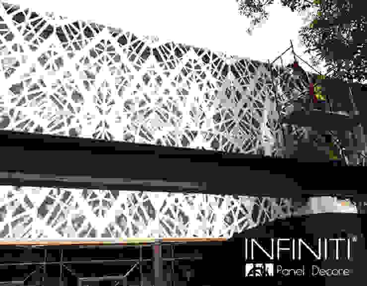 Infiniti Panel Decore Spazi commerciali in stile minimalista Metallo Bianco