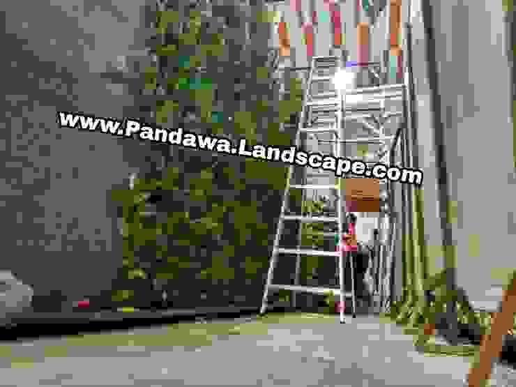 Jasa vertical garden surabaya Oleh Pandawa Landscape Tropis