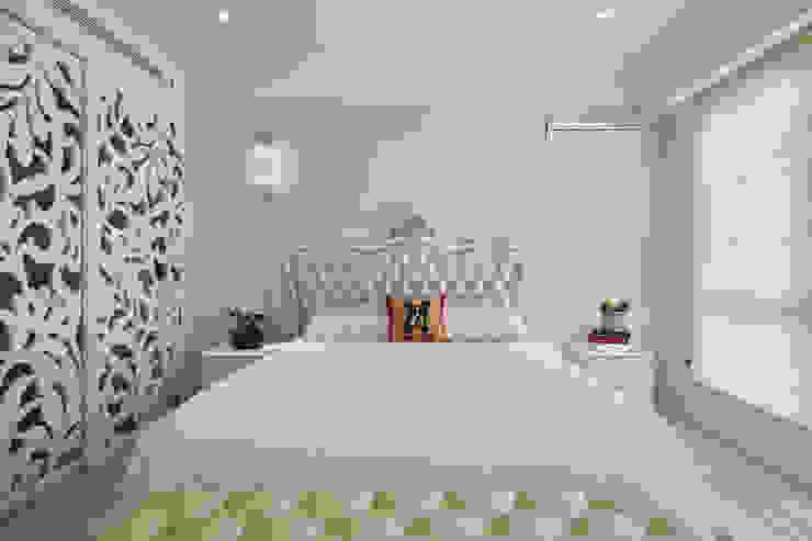簡潔純白的古典主臥房 根據 趙玲室內設計 古典風