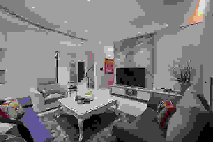 歐風客廳 根據 趙玲室內設計 古典風