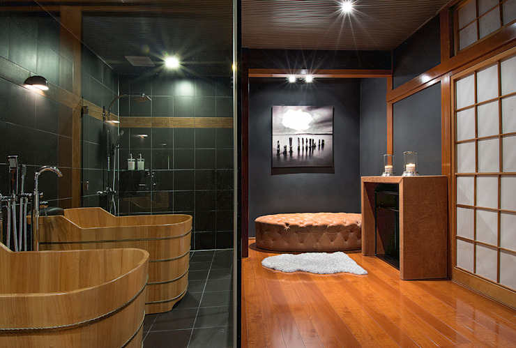 Japanese Bathroom Design by Design Intervention Asian style bathroom by Design Intervention Asian