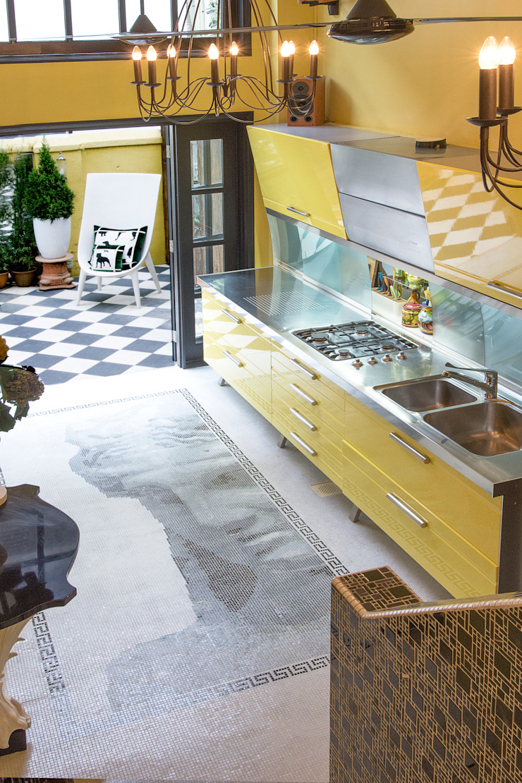 Eclectic Kitchen Design by Design Intervention by Design Intervention Eclectic