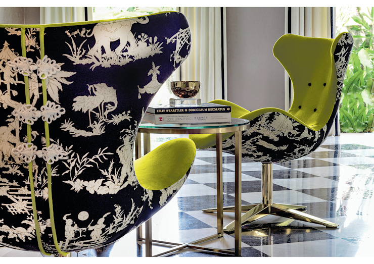 Chair Design by Design Intervention Asian style living room by Design Intervention Asian