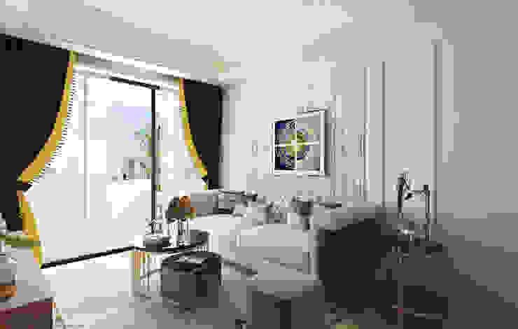 Fernvale Road Swish Design Works Modern living room