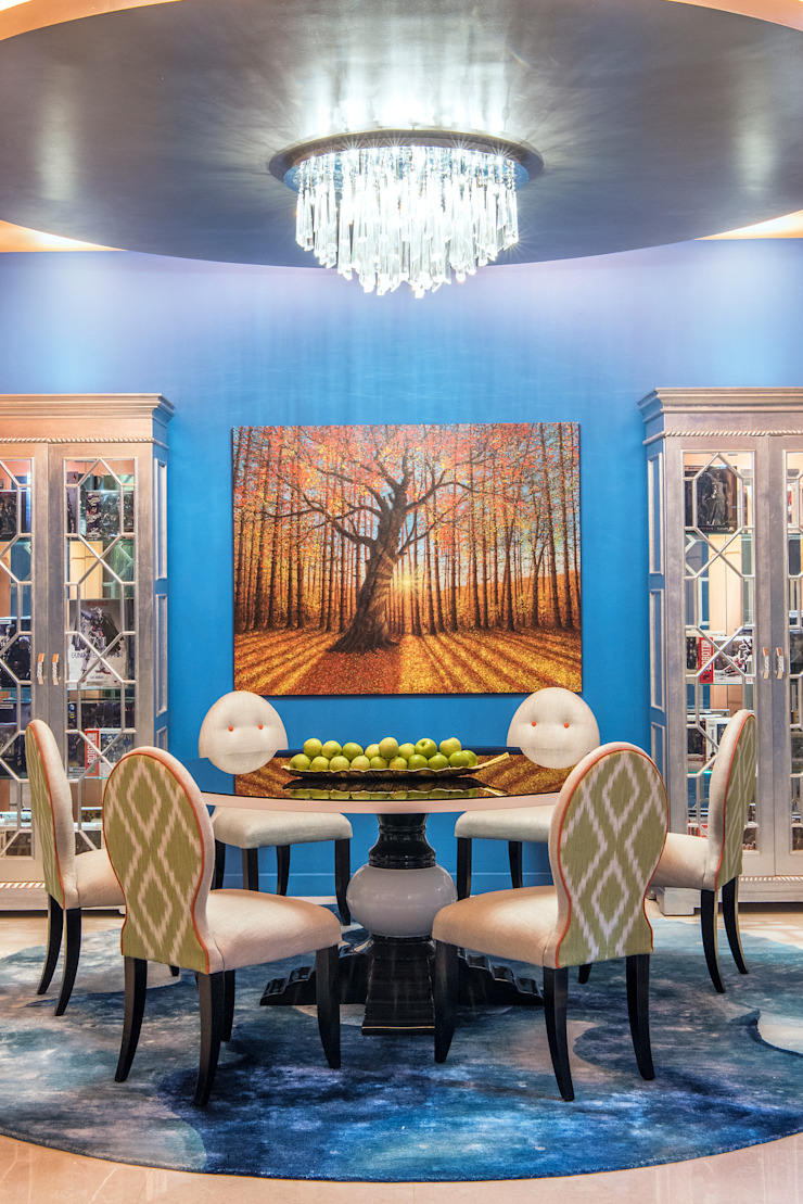 Maximalist Dining Room Modern dining room by Design Intervention Modern