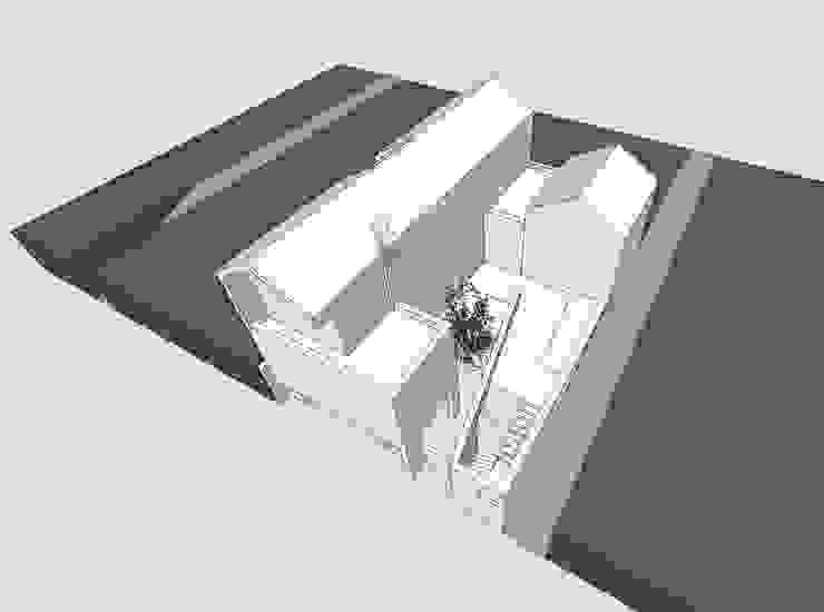 용인 영덕동 단독주택: 호림건축사사무소의 현대 ,모던