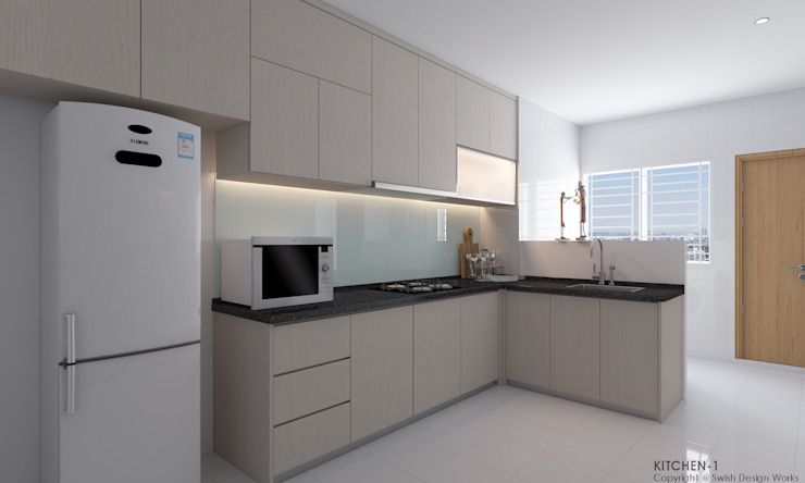 Swish Design Works Built-in kitchens