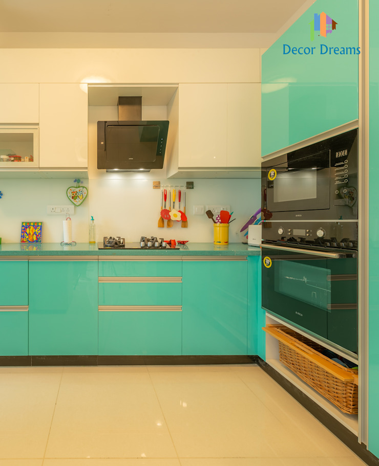 Brigade Meadows, 3 BHK—Dr. Usha & Dr. Mohan by DECOR DREAMS Modern