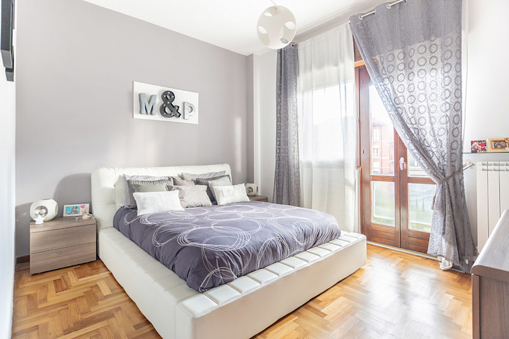 Industrial style bedroom by Facile Ristrutturare Industrial