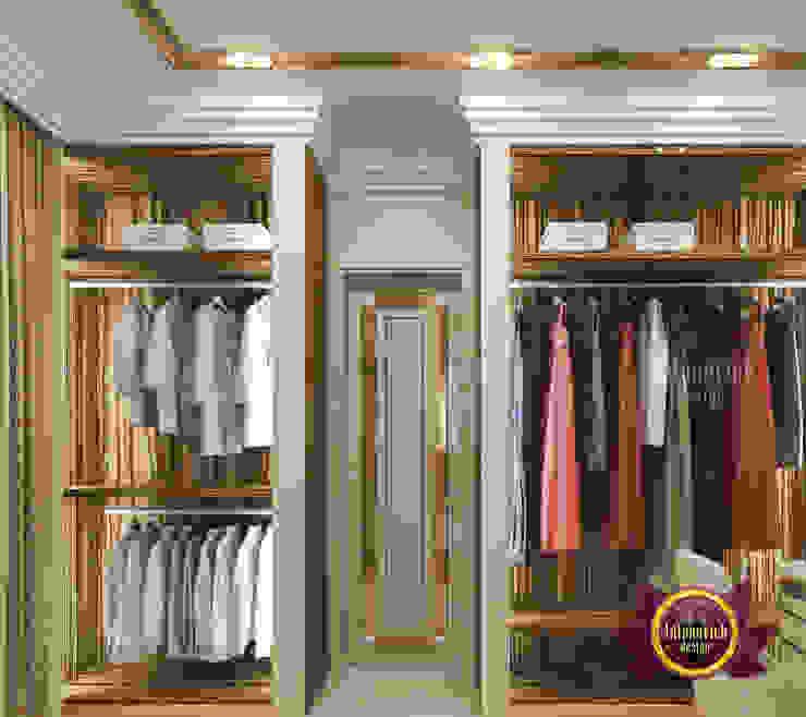 Sleek Luxury Closet Interior Design by Luxury Antonovich Design