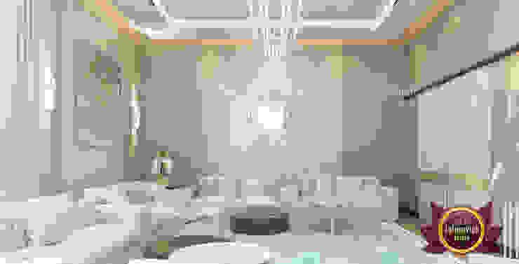 Truly Artistic Majlis Interior Design by Luxury Antonovich Design