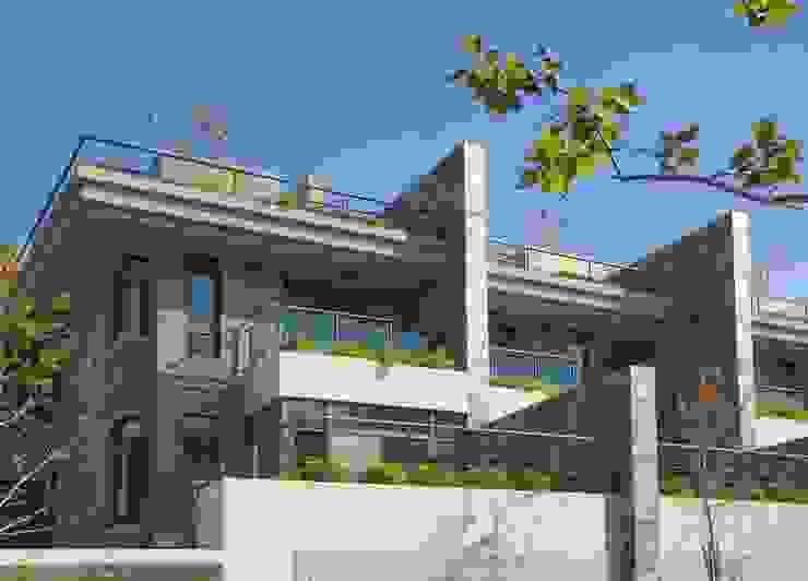 花園層退別墅 根據 大桓設計顧問有限公司 現代風