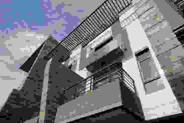 大面寬水平陽台 根據 大桓設計顧問有限公司 現代風
