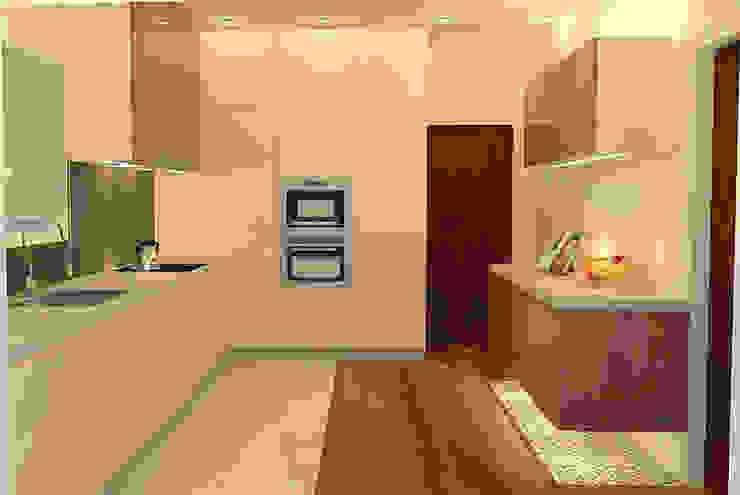 Uma cozinha funcional! por Casactiva Interiores Moderno